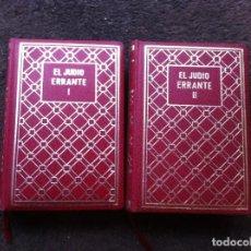 Libros de segunda mano: EUGENIO SUE. EL JUDÍO ERRANTE (2 TOMOS) ED. CASTRO, 1971. Lote 183888085
