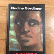 Libros de segunda mano: NADINE GORDIMER LA HISTORIA DE MI HIJO. Lote 183912462