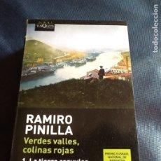 Libros de segunda mano: VERDES VALLES, COLINAS ROJAS: LA TIERRA CONVULSA. RAMIRO PINILLA. Lote 183962027