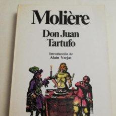 Libros de segunda mano: DON JUAN / TARTUFO (MOLIÈRE) PLANETA. Lote 184356873