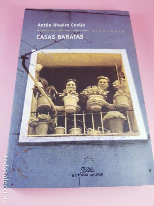 Libros de segunda mano: LIBRO-CASAS BARATAS-ANTÓN RIVEIRO COELLO-EDITORIAL GALAXIA-GALLEGO-2ºedición-2006-nuevo-ver f - Foto 2 - 184455553