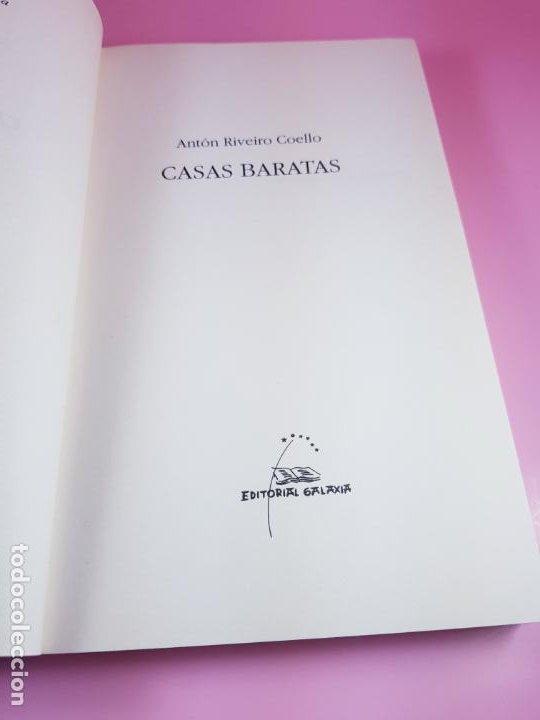 Libros de segunda mano: LIBRO-CASAS BARATAS-ANTÓN RIVEIRO COELLO-EDITORIAL GALAXIA-GALLEGO-2ºedición-2006-nuevo-ver f - Foto 4 - 184455553