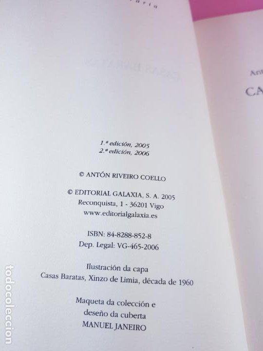 Libros de segunda mano: LIBRO-CASAS BARATAS-ANTÓN RIVEIRO COELLO-EDITORIAL GALAXIA-GALLEGO-2ºedición-2006-nuevo-ver f - Foto 6 - 184455553