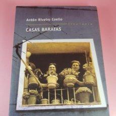 Libros de segunda mano: LIBRO-CASAS BARATAS-ANTÓN RIVEIRO COELLO-EDITORIAL GALAXIA-GALLEGO-2ºEDICIÓN-2006-NUEVO-VER F. Lote 184455553