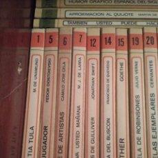 Libros de segunda mano: LOTE DE LIBROS 61, EDITORIAL SALVAT. Lote 184487281