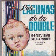 Libros de segunda mano: GENEVIEVE FAUCONNIER : LAS LAGUNAS DE LA DOUBLE (PLAZA, 1959. Lote 184675073