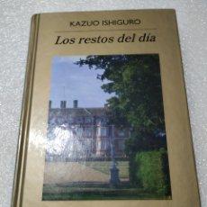 Libros de segunda mano: LOS RESTOS DEL DÍA. KAZUO ISHIGURO. TAPA DURA. Lote 184865191