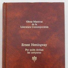 Libros de segunda mano: POR QUIÉN DOBLAN LAS CAMPANAS - ERNEST HEMINGWAY - SEIX BARRAL (TAPA DURA). Lote 184880848