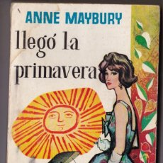 Libros de segunda mano: LLEGÓ LA PRIMAVERA. ANNE MAYBURY. LIBRO PLAZA Nº 176. EDICIONES G.P. 1959. Lote 185671442