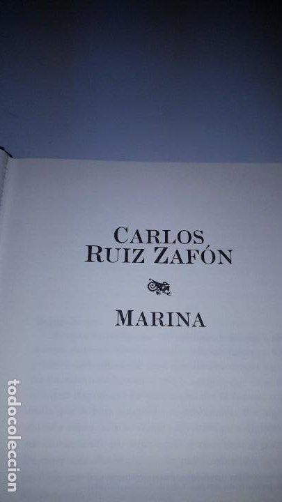 Libros de segunda mano: LIBRO-MARINA-CARLOS RUÍZ ZAFÓN-SOBRECUBIERTA-2008-3ªREIMPRESIÓN-SOBRECUBIERTA-VER FOTOS - Foto 5 - 185756860