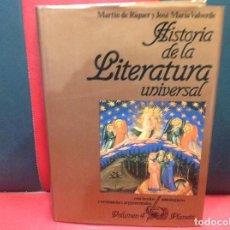 Libros de segunda mano: HISTORIA DE LA LITERATURA UNIVERSAL, MARTIN DE RIQUER Y JOS MARIA VALVERDE, VOLUMEN 4. Lote 185900912
