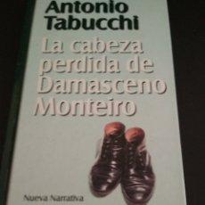 Libros de segunda mano: LIBRO DE ANTONIO TABUCCHI. Lote 186111200