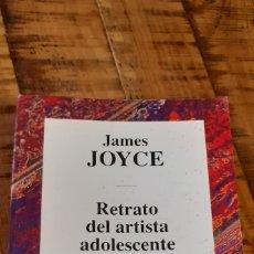Libros de segunda mano: JAMES JOYCE - RETRATO DEL ARTISTA ADOLESCENTE - RBA EDITORES.. Lote 186147231