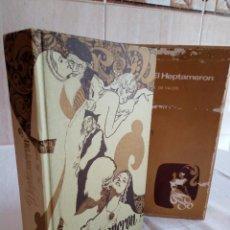 Libros de segunda mano: 253-EL HEPTAMERON, M. DE VALOIS, GASSO 1971. Lote 186183117