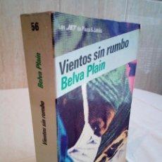 Libros de segunda mano: 233-VIENTOS SIN RUMBO, VELVA PLAIN, 1984. Lote 186183357