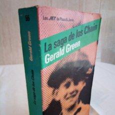 Libros de segunda mano: 211-LA SAGA DE LOS CHAIN, GERALD GREEN, 1984. Lote 186183813