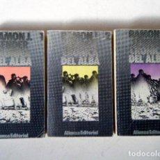 Libros de segunda mano: CRÓNICA DEL ALBA, I, II Y III VOLS. RAMÓN J. SENDER.. Lote 186414966