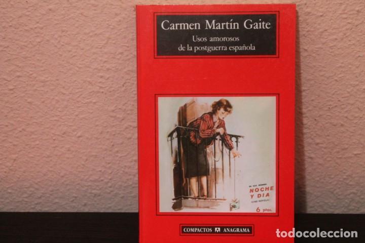 USOS AMOROSOS DE LA POSTGUERRA ESPAÑOLA (Libros de Segunda Mano (posteriores a 1936) - Literatura - Narrativa - Otros)