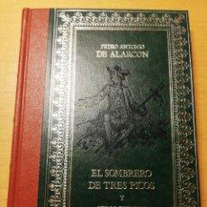 Libros de segunda mano: EL SOMBRERO DE TRES PICOS Y OTROS CUENTOS (PEDRO ANTONIO ALARCÓN). Lote 187124182