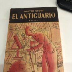 Libros de segunda mano: EL ANTICUARIO. Lote 187432546