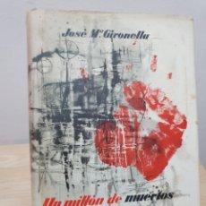 Libros de segunda mano: UN MILLÓN DE MUERTOS. Lote 187466400