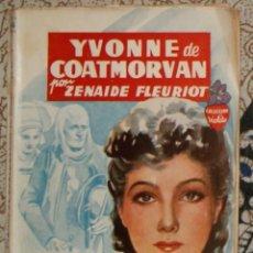 Libros de segunda mano: YVONNE DE COATMORVAN ZENAIDE FLEURIOT . Lote 187467861