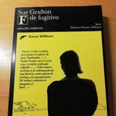 Libros de segunda mano: F DE FUGITIVO (SUE GRAFTON) TUSQUETS EDITORES. Lote 188103995