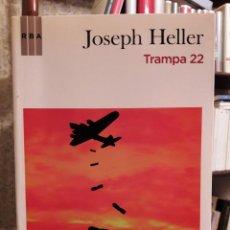 Libros de segunda mano: JOSEPH HELLER - TRAMPA 22. Lote 188518313
