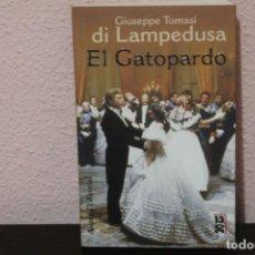 Libros de segunda mano: GIUSEPPE TOMASI DI LAMPEDUSA- EL GATOPARDO. ALIANZA EDITORIAL.. Lote 188599231