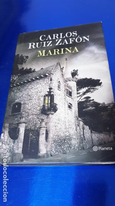 LIBRO-MARINA-CARLOS RUÍZ ZAFÓN-SOBRECUBIERTA-2008-3ªREIMPRESIÓN-SOBRECUBIERTA-VER FOTOS (Libros de Segunda Mano (posteriores a 1936) - Literatura - Narrativa - Otros)
