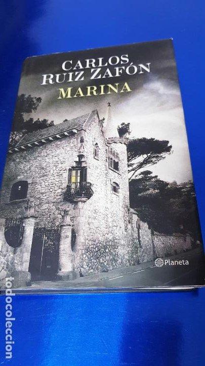 Libros de segunda mano: LIBRO-MARINA-CARLOS RUÍZ ZAFÓN-SOBRECUBIERTA-2008-3ªREIMPRESIÓN-SOBRECUBIERTA-VER FOTOS - Foto 9 - 185756860