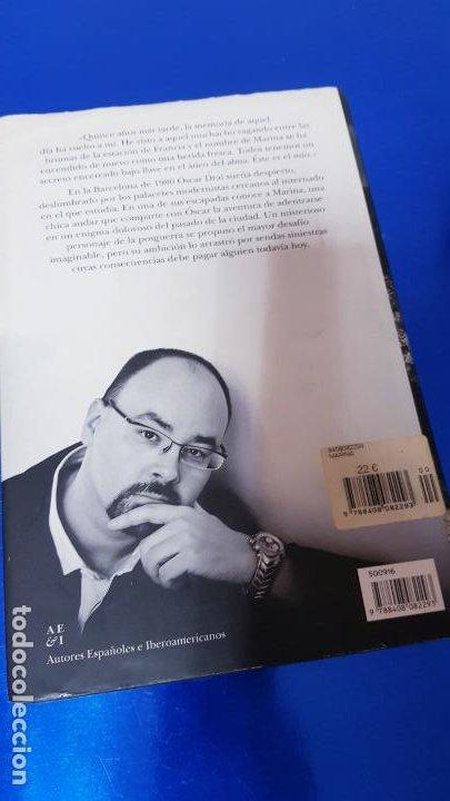 Libros de segunda mano: LIBRO-MARINA-CARLOS RUÍZ ZAFÓN-SOBRECUBIERTA-2008-3ªREIMPRESIÓN-SOBRECUBIERTA-VER FOTOS - Foto 3 - 185756860