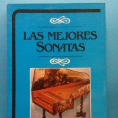 Livres d'occasion: LAS MEJORES SONATAS. ANALISIS OBRA POR OBRA. F.X. MATA. EDITORIAL DAIMON. Lote 189748506