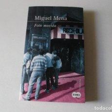 Libros de segunda mano: MIGUEL MENA, FOTO MOVIDA 2014, PRIMERA EDICION. Lote 190437175