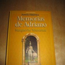 Libros de segunda mano: MEMORIAS DE ADRIANO. MARGUERITE YOURCENAR. Lote 190524942
