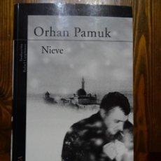 Libros de segunda mano: NIEVE-ORHAM PAMUK. Lote 190558715