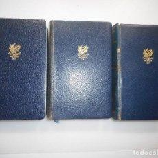 Libros de segunda mano: COLETTE OBRAS COMPLETAS(PRIMEROS TRES TOMOS) Y98039. Lote 191166835