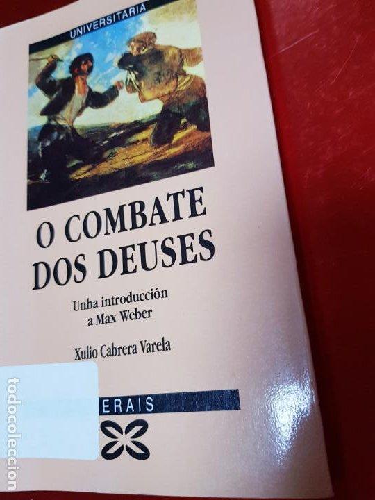 Libros de segunda mano: LIBRO-O COMBATE DOS DEUSES-XULIO VARELA C.-1990-XERAIS-GALLEGO-VER FOTOS - Foto 2 - 191268412