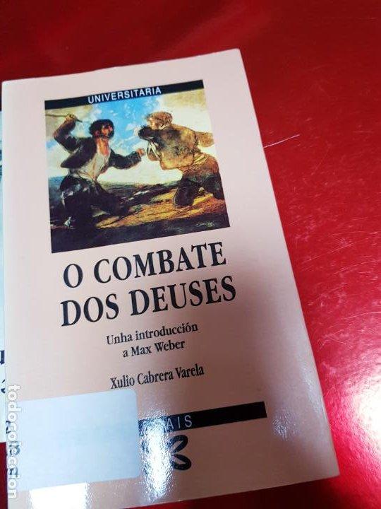 Libros de segunda mano: LIBRO-O COMBATE DOS DEUSES-XULIO VARELA C.-1990-XERAIS-GALLEGO-VER FOTOS - Foto 4 - 191268412