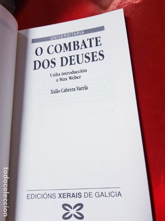 Libros de segunda mano: LIBRO-O COMBATE DOS DEUSES-XULIO VARELA C.-1990-XERAIS-GALLEGO-VER FOTOS - Foto 5 - 191268412