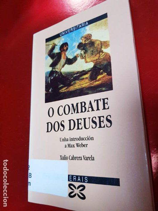 LIBRO-O COMBATE DOS DEUSES-XULIO VARELA C.-1990-XERAIS-GALLEGO-VER FOTOS (Libros de Segunda Mano (posteriores a 1936) - Literatura - Narrativa - Otros)