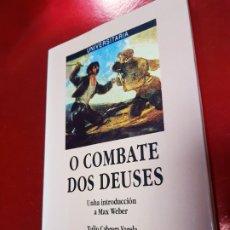 Libros de segunda mano: LIBRO-O COMBATE DOS DEUSES-XULIO VARELA C.-1990-XERAIS-GALLEGO-VER FOTOS. Lote 191268412