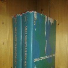 Libros de segunda mano: OBRAS COMPLETAS DE HUGO WAST, EDICIONES FAX, 1956 1957. Lote 191335518