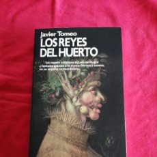Livros em segunda mão: LITERATURA ESPAÑOLA CONTEMPORÁNEA. LOS REYES DEL HUERTO. JAVIER TOMEO. Lote 228393060