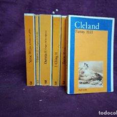 Libros de segunda mano: LOTE DE UNAS 7 LIBROS DE AKAL BOLSILLO, J. VERNE, C. DARWING Y OTROS, AKAL, 1980´S, MADRID. Lote 191468216