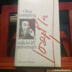 Libros de segunda mano: JOSEP PLA-OBRA COMPLETA-COLECCION 10E ANIVERSARI-Nº 21--CRONIQUES PALAMENTARIES-1992. Lote 191557040