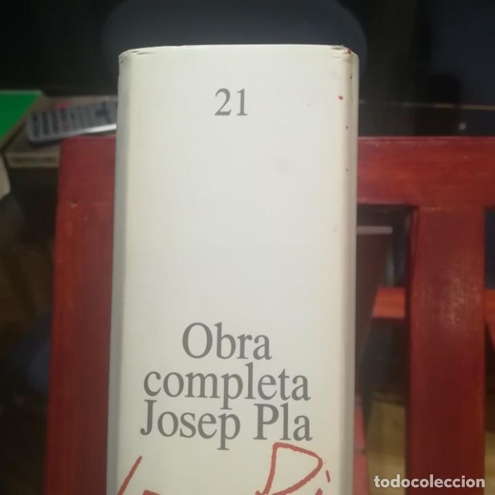Libros de segunda mano: JOSEP PLA-OBRA COMPLETA-COLECCION 10E ANIVERSARI-Nº 21--CRONIQUES PALAMENTARIES-1992 - Foto 2 - 191557040