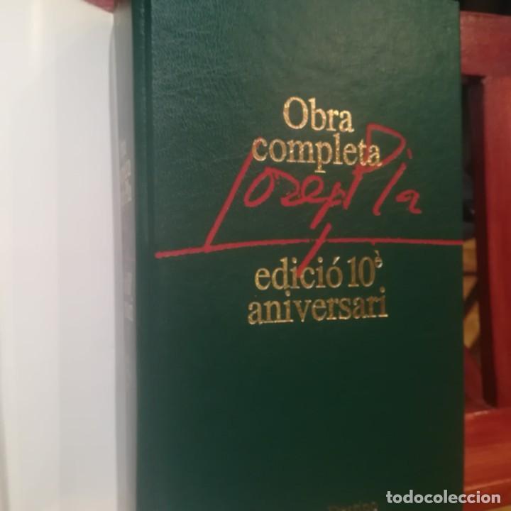 Libros de segunda mano: JOSEP PLA-OBRA COMPLETA-COLECCION 10E ANIVERSARI-Nº 21--CRONIQUES PALAMENTARIES-1992 - Foto 5 - 191557040