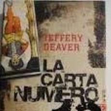 Libros de segunda mano: LA CARTA NUMERO DOCE - JEFFERY DEAVER. Lote 191696778