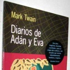 Libros de segunda mano: DIARIOS DE ADÁN Y EVA. MARK TWAIN. Lote 191696987